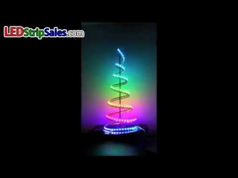 LEDstripsales 6803 Digital Intelligent RGB LED Light Strip Christmas tree
