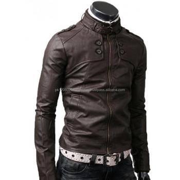 Inspiring Dark Brown Leather Jacket Men Best Leather Jackets For ...
