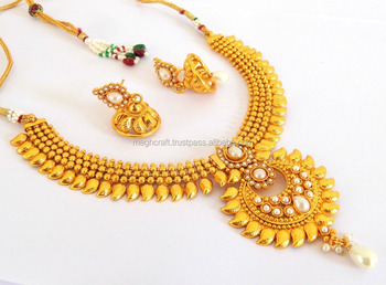 Indian Ethnic Jewellerywholesale Bollywood Style Gold Plated