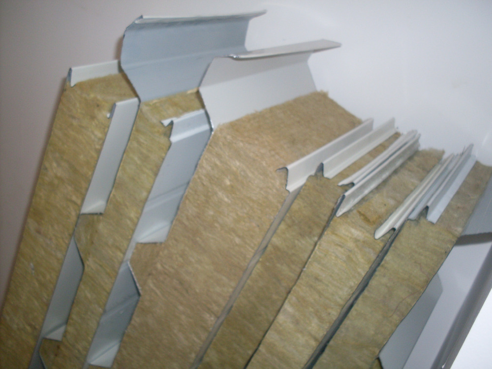 Stone Wool Mineral Wool Rock Wool Insulated Panels For