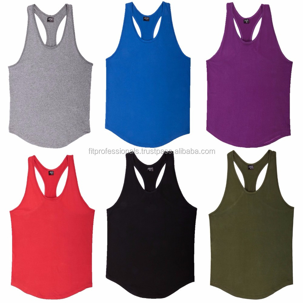 c6da98e7a5fc1 Men Custom Stringer Tank Top Plain Tanks With Private Label - Buy ...