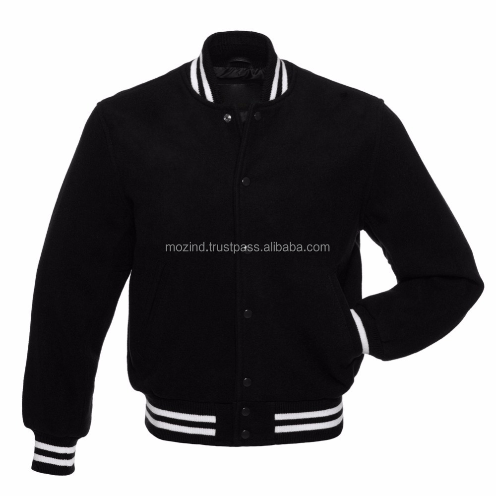 Mans Outdoor Warm Wear All Wool Varsity Jackets / Custom Letterman Jackets/ Wholesale Custom College baseball Varsity Jackets