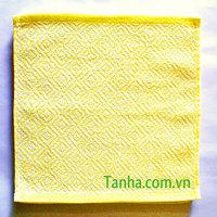 375g/dozen yellow jacquard Hand Towel
