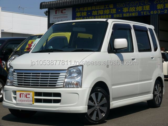 Right hand drive used car importers with Good Condition wagonR FX-S limited 2007 made in Japan