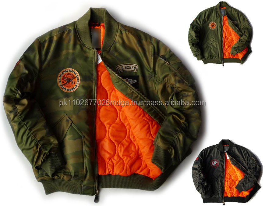 Wholesale Patch Jacket Custom Mens Bomber Jackets In Zipper,Bomber ...