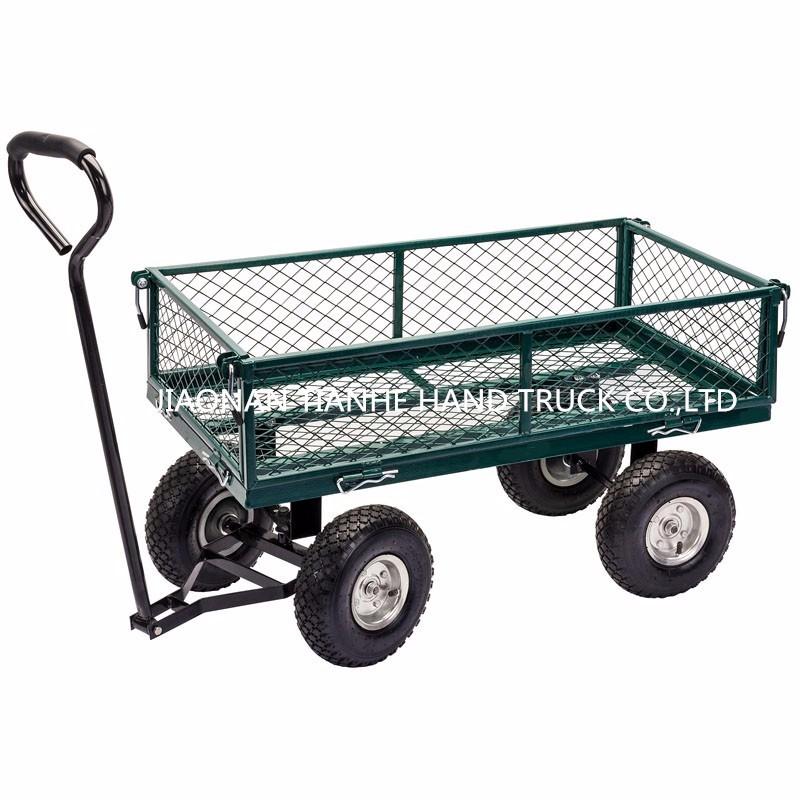 Hot Sale Heavy Duty Mesh Metal Garden Wagon Garden Trolley   Buy Mesh Garden  Wagon Cart,Garden Tool Cart,Metal Steel Wagon Product On Alibaba.com