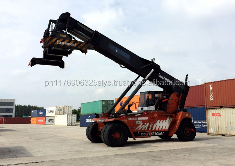 45 ton fantuzzi reach stacker with volvo engine