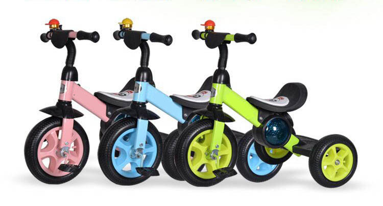 Plastic Cheap Eec 3 Rubber Wheels Baby Trike Tricycle For