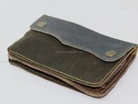 Genuine Leather wallet for Men card holder leather purse unisex money bag