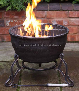 Fire Bowl Outdoor Cast Iron Pit Folding Product On Alibaba