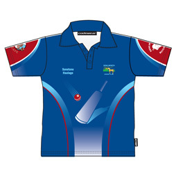 Cricket Jersey In Polo Design