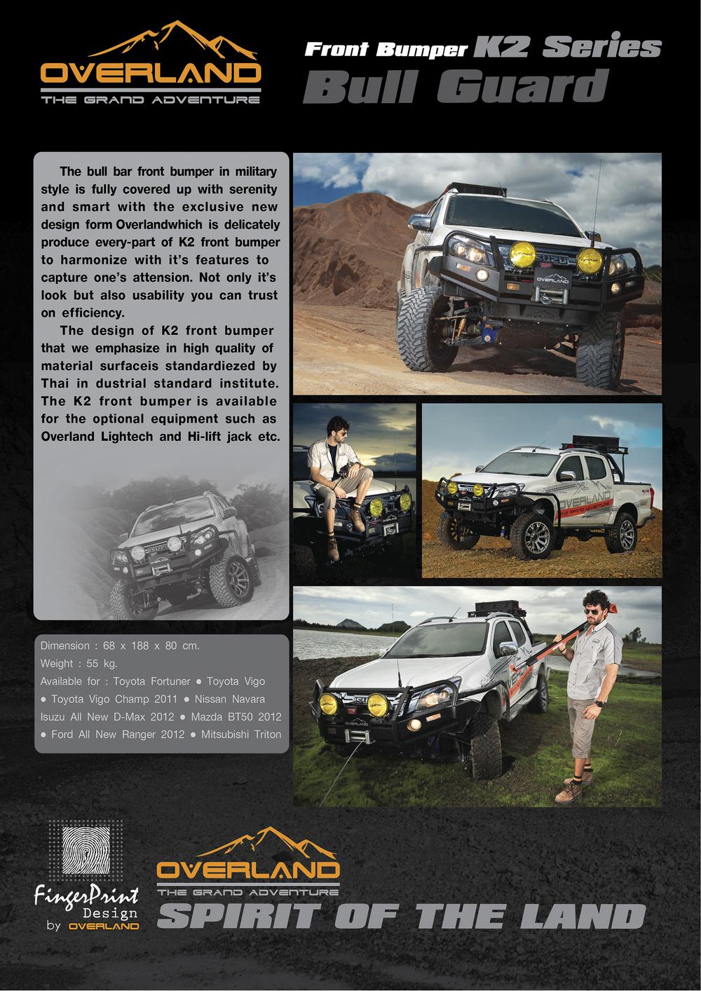 Front Bumper K2 Bull Bar For Nissan Navara Buy 4x4