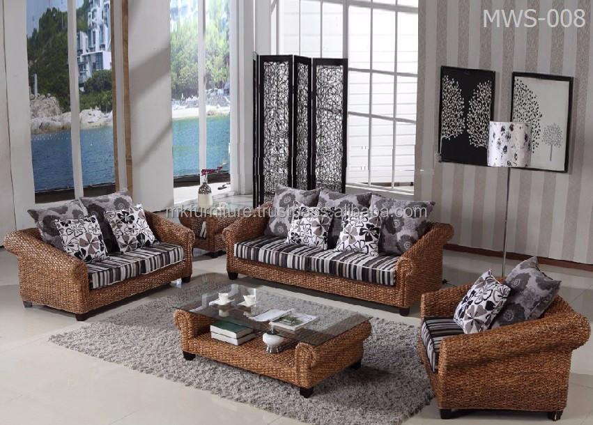 Moderne Rattan Inneneinrichtung Wohnzimmer  Luxus Haus Wohnmöbel   Handgewebte Von Korbwaren, Hyazinthe.