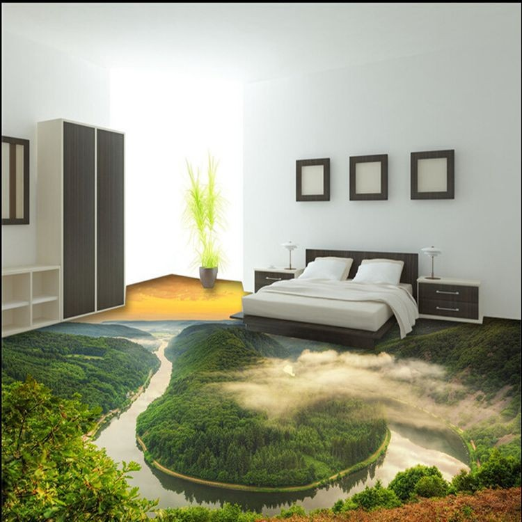 3d bathroom ceramic printed floor tilesmodern living room floor tiles - Green Tiles For Living Room Floor