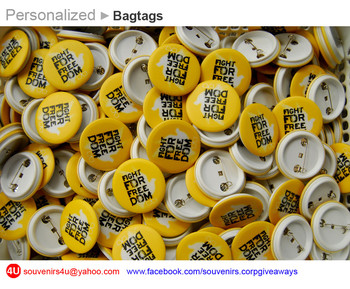 Personalized On Pins Pin Badges Souvenirs Corporate Giveaways Promotional Items