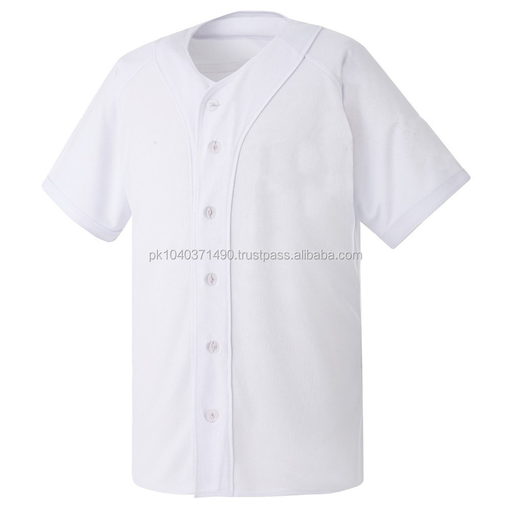 all white baseball jersey