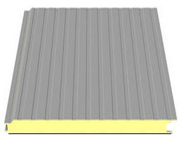 Corrugated Trapezoidal Tile Profile Sandwich Panels 971