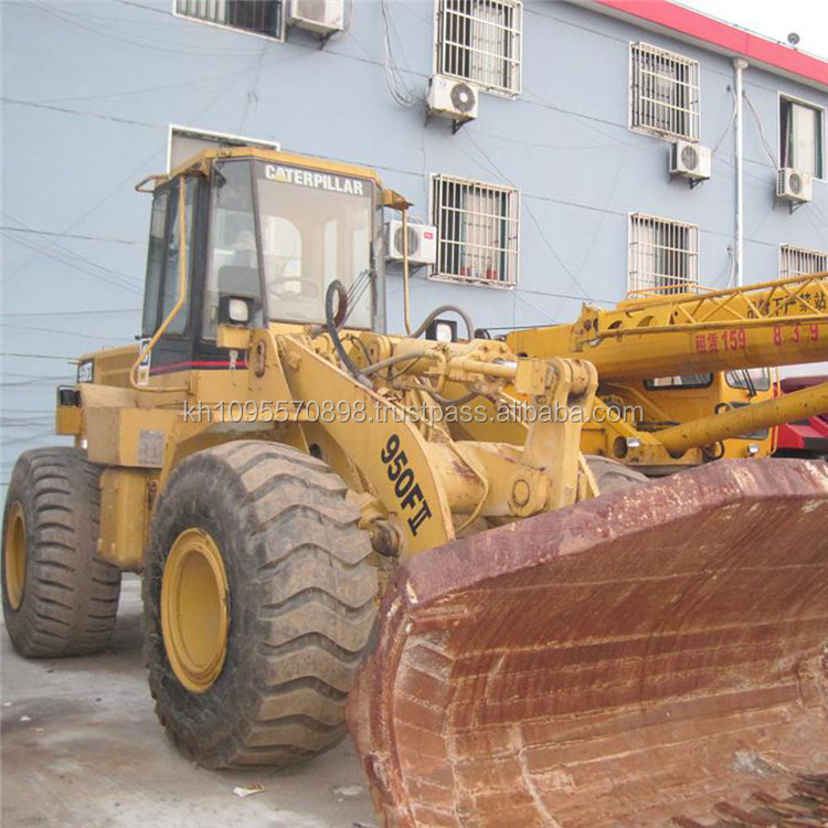 Used caterpillar wheel loader 950F2, CAT 950f2 loaders