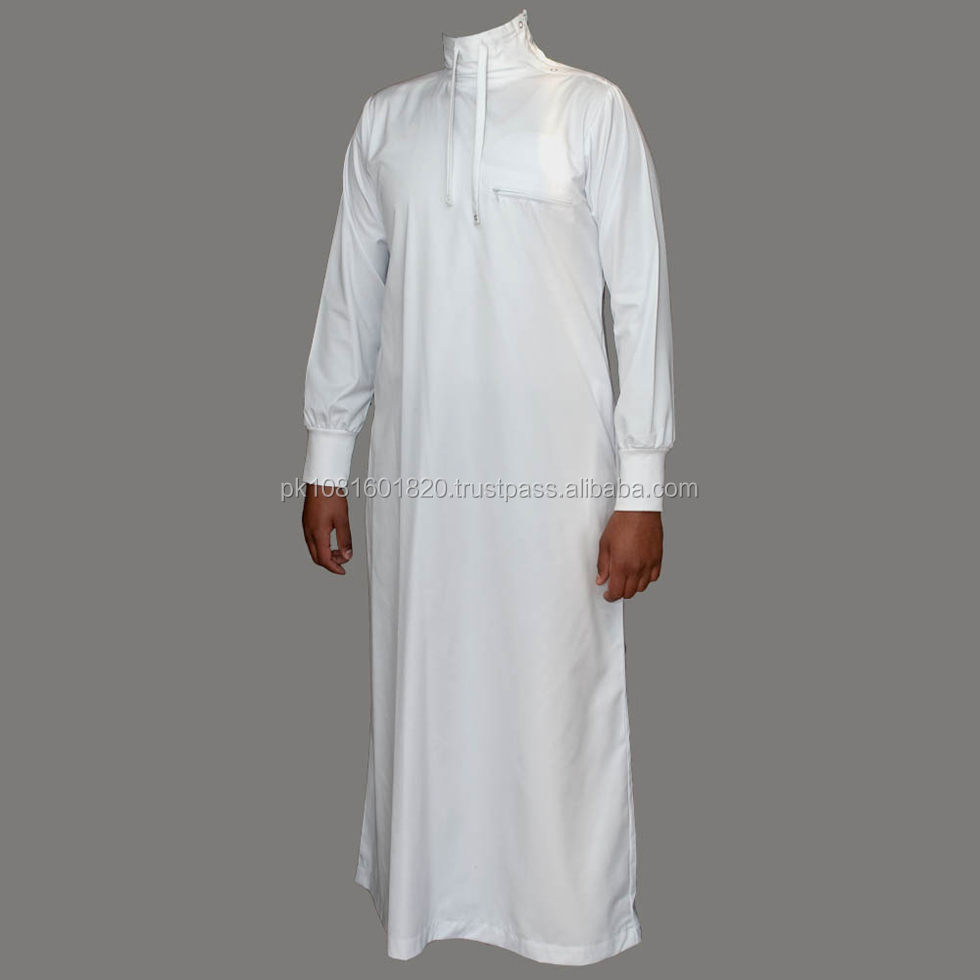 High Quality New Style Islamic Clothing Muslim Men Thobe