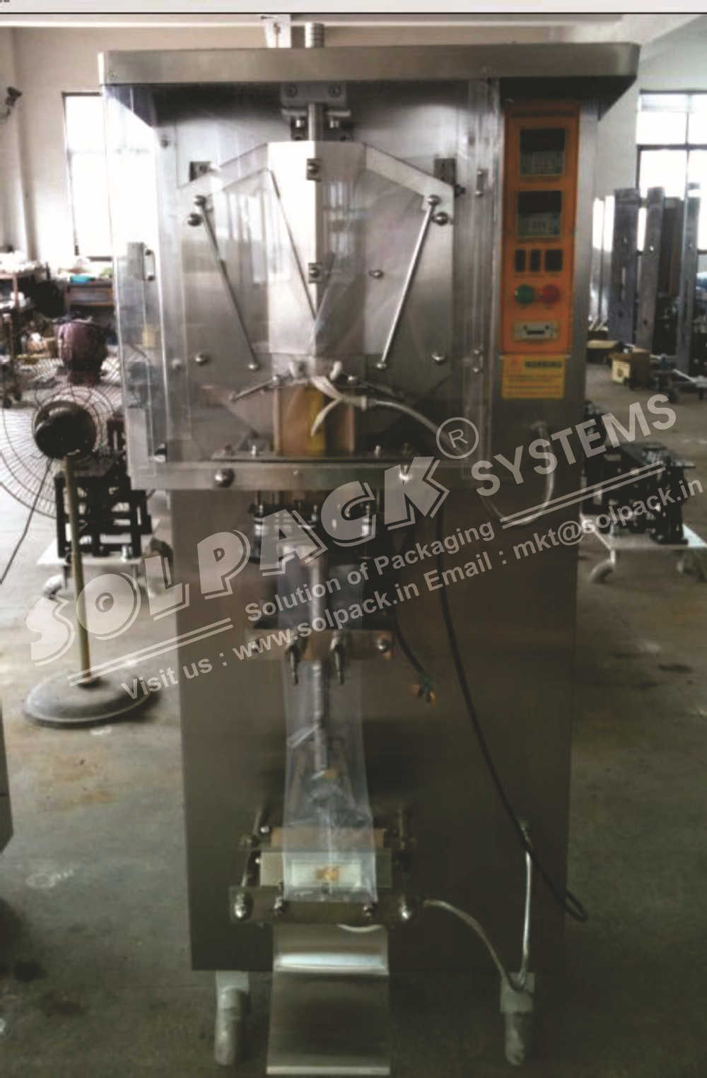 automatic liquid bag packing machine