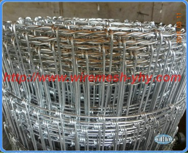 New design double edge wire galvanized bull wire fence / farm field fence for sale