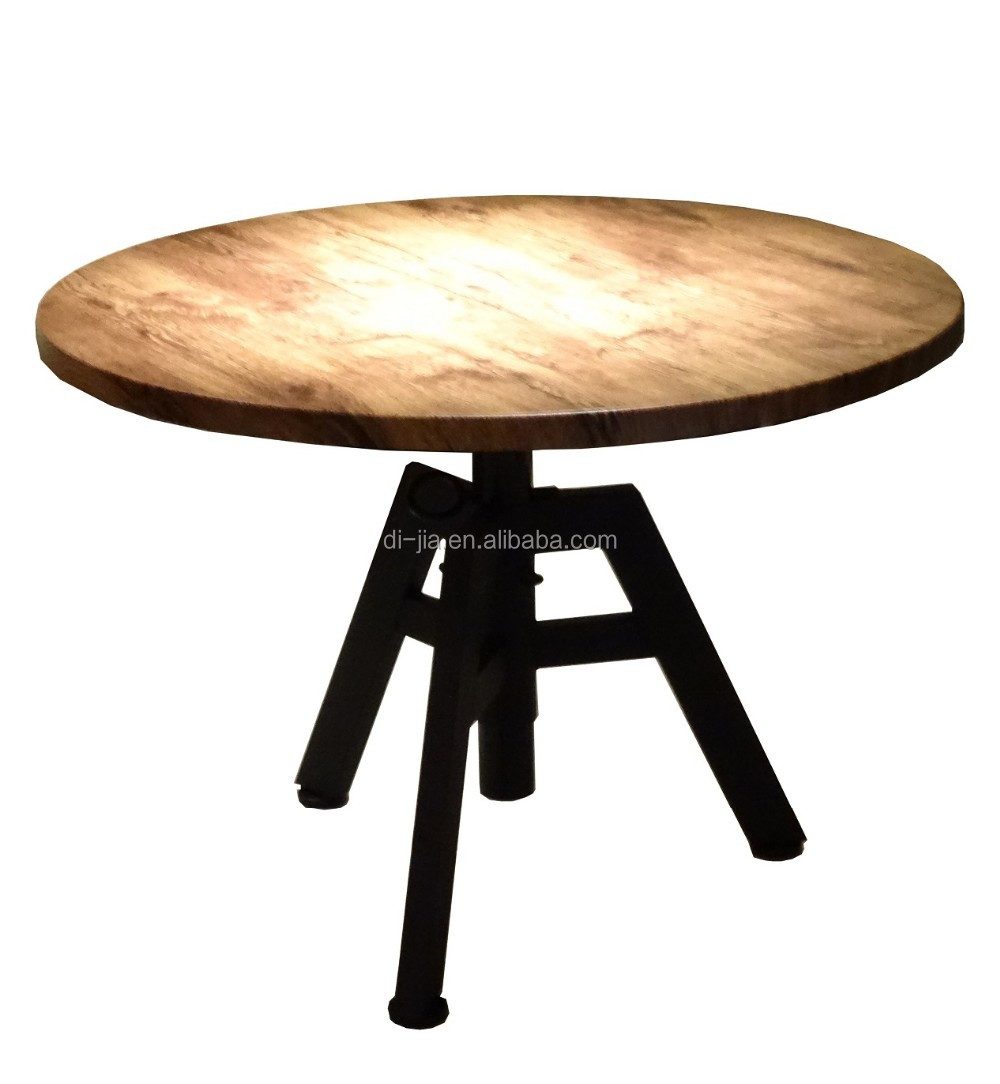 Round Coffee Table With Adjustable Height: Round Coffee Table, View Adjustable Height Coffee Table