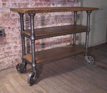 Trolley Side Table