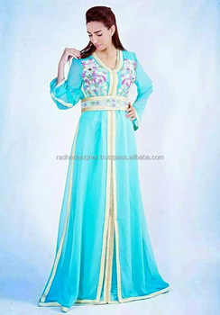 Letest Designer Kaftan Fashion Arab Exclusive Designs Beautiful Abaya Fancy Jilbab Hijab Dress Design