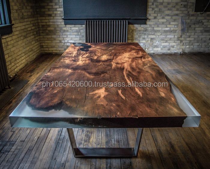 Mesa de jantar em madeira recuperada bentley r gido for Mesas de jardin de resina