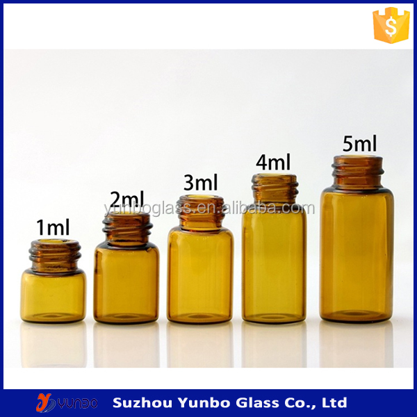 Empty Perfume Bottles Sample Perfume Glass Vials For