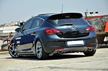 Opel Astra J 2009- Hb Rear Bumper Diffuser - Buy Rear ...