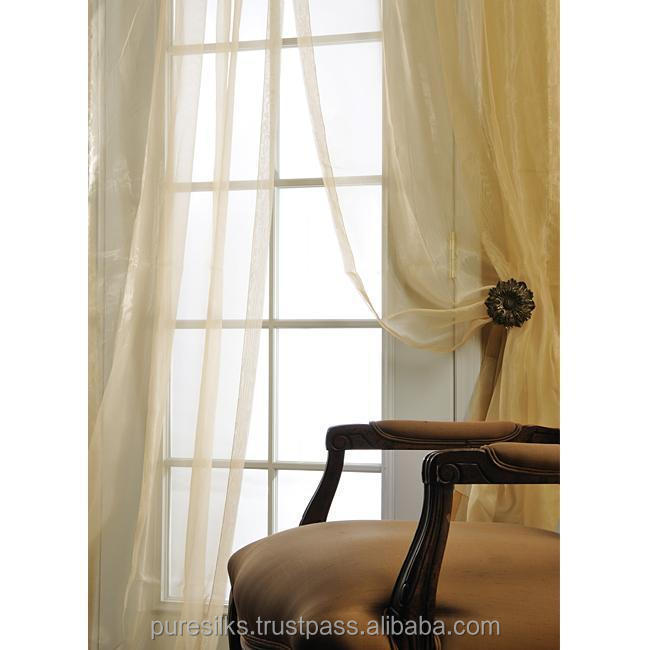 Ivory Silk Organza 108 Inch Wide Sheer