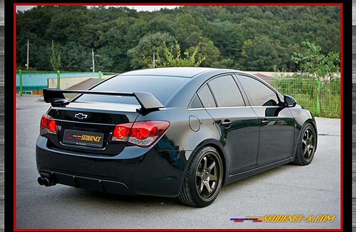 New Chevy Cruze >> [sequence] Chevrolet Cruze - Quantum Rear Wing Spoiler(no.3243) - Buy Chevrolet Cruze Wing ...