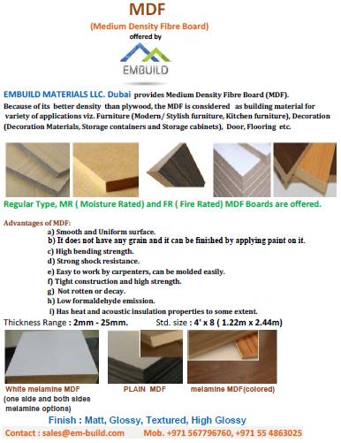 Mdf/plywood/marine Plywood - Dubai For Qatar/oman/bahrain/saudi  Arabia/kuwait/jordan Markets - Uae +971 5478106 - Buy Supplier Of  Mdf/plywood/marine