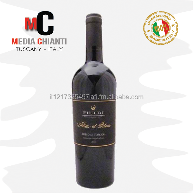 High Quality Italian Wine ALIUS ET IDEM TUSCAN IGT Geographical Indication Red wine Vintage 2011