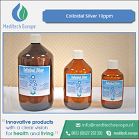 100% Certified Grade Colloidal Silver 10ppm Supplier