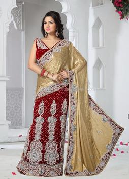 ae1deb3a28 Saree lehenga - Special designer lehenga saree - Fancy saree blouse designs  - Bulk lehenga saree