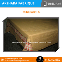 Indian Company Export Branded 100% Original Cotton Table Cloth for Sale