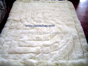 Soft Fur Baby Alpaca Rug Carpet Peru