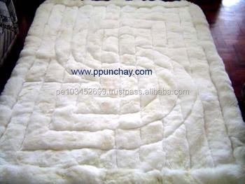 Soft Fur Baby Alpaca Rug Carpet Peru 82x74