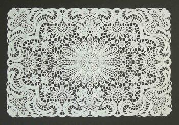 Vinyl Crochet Placemat Buy Vinyl Lace Placematcrochet Table Mat