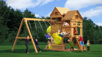 Dreamwood Childrens Wooden Playset Buy Childrens Wooden Playgroundplastic Outdoor Playsetswooden Outdoor Playsets Product On Alibabacom