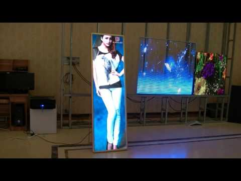 Auroled Transparent led display and COB ad player and COB P2 LED DISPALY