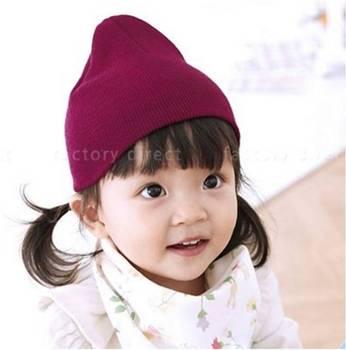 Cotton Toddler Beanie Korea 100% cotton beanie hat cotton baby hat 3d998ad397b
