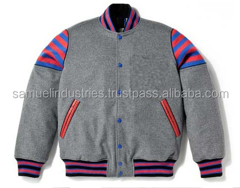 Branded All Wool Varsity jacketsKids favorite ice cream varsity jacketGents charcoal Grey Wool varsity Jackets