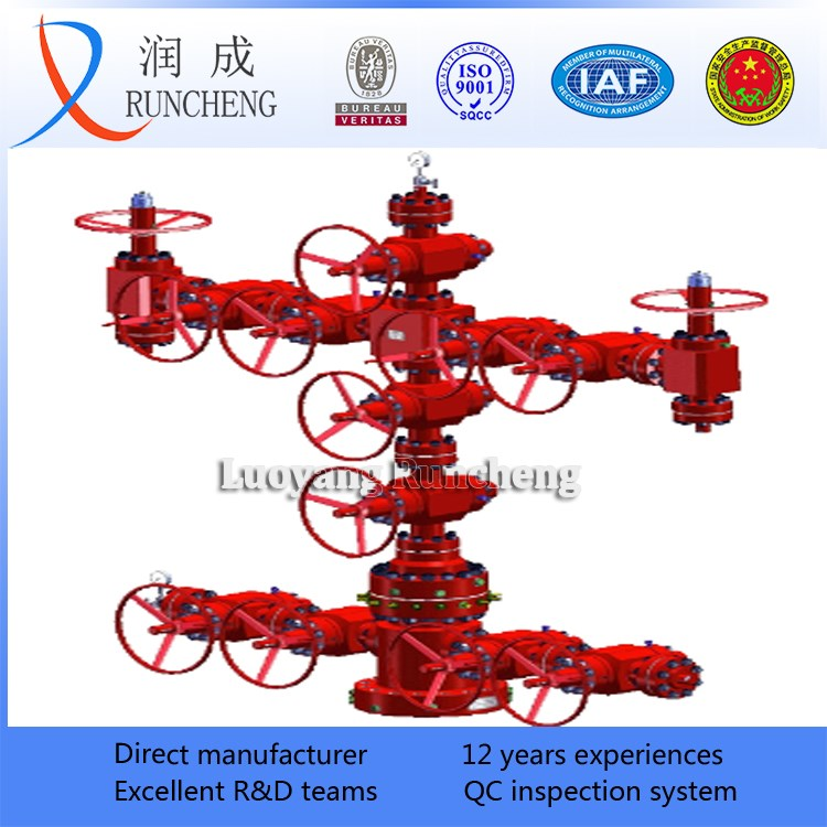 Api 6a Oil And Gas Production Tree High Pressure Xmas Tree Wellhead Christmas Tree - Buy Oil And ...