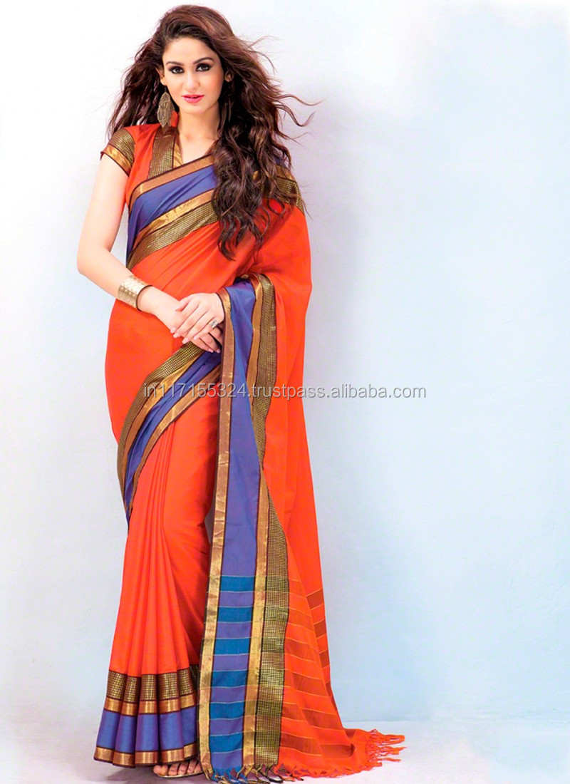 071fbc45f New border design saree - Indian saree low prices - Latest marwadi saree -  Made in