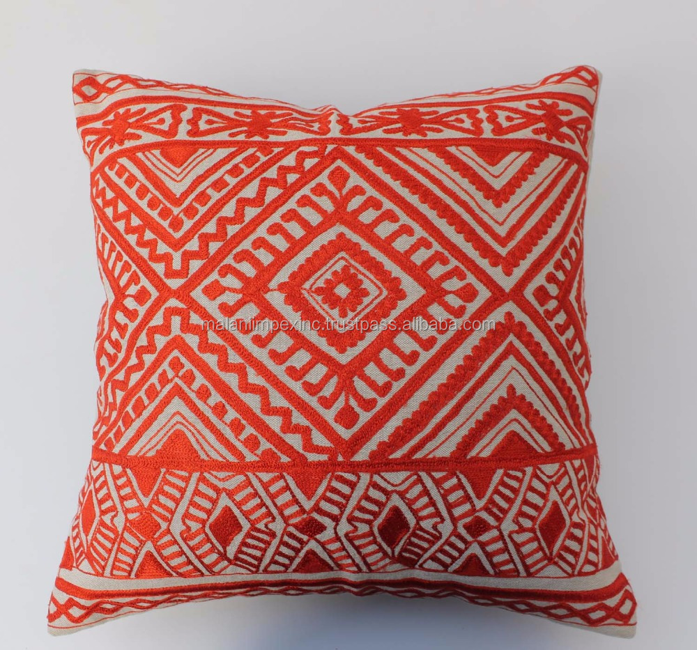 Malani Impex - chinese embroidered cushion cover pillow cover