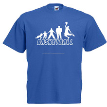 Blue latest t shirt designs basketball men fancy t shirt