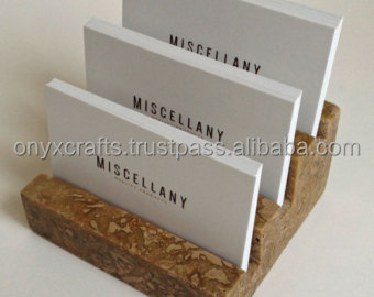 Tan Marble Business Card Holder For Wholesale Cheap Price Buy Bulk